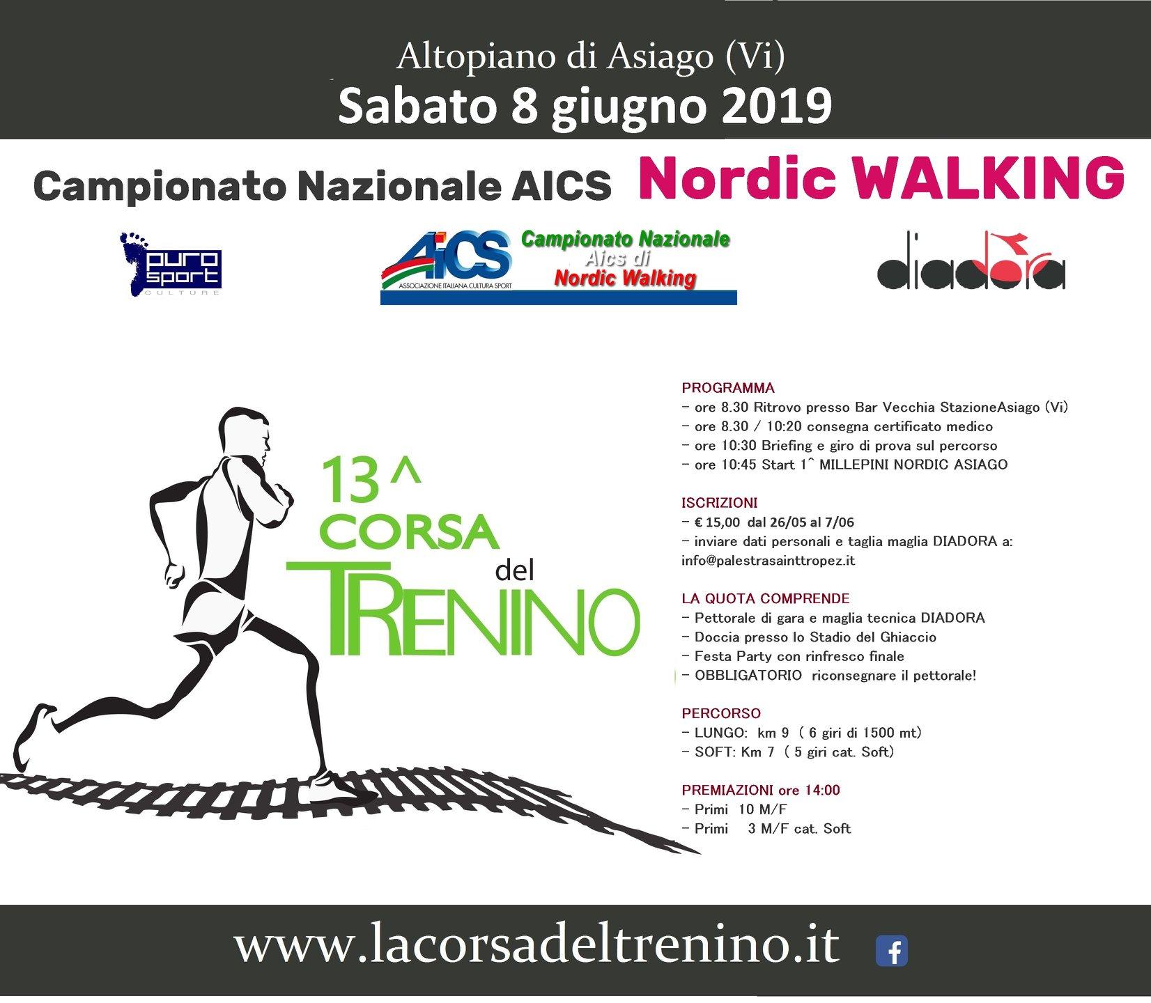 Nordic Walking Vicenza Calendario.Gare 2016